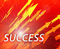 Leadership management success Stock Images