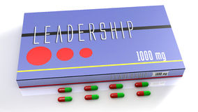 Leadership medication Stock Photo