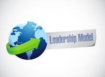 Leadership model sign illustration design Royalty Free Stock Photo