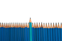 Leadership Pencil Royalty Free Stock Photos
