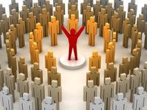 Leadership power. Stock Image