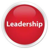 Leadership premium red round button Stock Photo