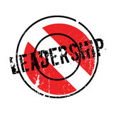 Leadership rubber stamp Stock Photos