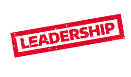 Leadership rubber stamp Stock Photography