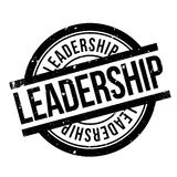 Leadership rubber stamp Stock Images
