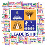 Leadership sign and symbol presented by illustrati Stock Photography