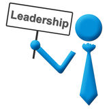 Leadership Signboard Royalty Free Stock Photo