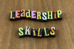 Leadership skills leader lead help boss authority business