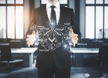 Leadership and startup concept Royalty Free Stock Image