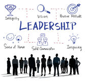 Leadership Success Skills Drawing Graphic Concept stock images