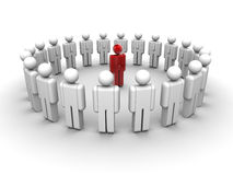 Leadership and team Royalty Free Stock Images