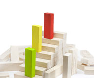 Leadership team growth career concept Stock Photo