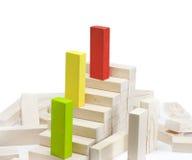 Leadership team growth career concept. Leadership team growth career abstract business concept Stock Photo