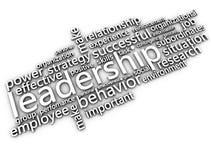 Leadership white concept image Royalty Free Stock Photos
