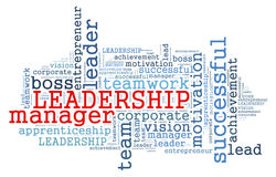LEADERSHIP word cloud Concept Stock Photo