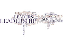 Leadership Is It For You Text Background  Word Cloud Concept Stock Photos