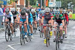 Leading cyclists Royalty Free Stock Images