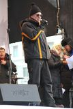 Leading the rally for fair elections, a music Stock Images