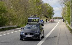 Leading time car Stock Photography