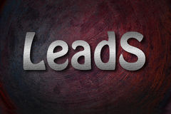 Leads Concept Royalty Free Stock Images