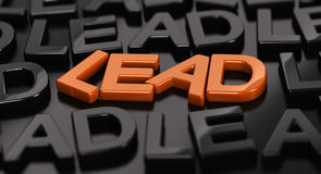 Leads Generation, Hot lead. Stock Photography