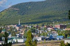 Leadville,科罗拉多地平线  库存图片