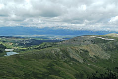 Leadville 2. View from above Leadville Colorado Stock Photo