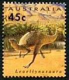 Leaellynasaura Australian Postage Stamp Stock Photo