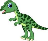 Leaellynasaura tecknad film Arkivfoto