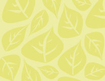 Leaf background. With muted colors Stock Photography