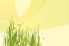 Leaf background (vector). Grouped for easy changes Stock Image