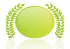 Leaf Badge - Vector Stock Photos
