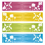 Leaf Banner. This graphic is Banner or Background Royalty Free Stock Photo