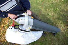 Leaf Blower Stock Photography