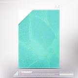 Leaf blue Stock Images