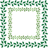 Leaf Border Royalty Free Stock Image
