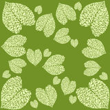 Leaf calla pattern. Pattern from leaves of calla lilies on bright background Royalty Free Stock Photos