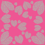 Leaf calla pattern. Pattern from leaves of calla lilies on bright background Stock Photography