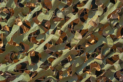 Leaf camouflage net detail Stock Images