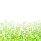 Leaf clover landscape Royalty Free Stock Image