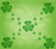 Leaf clover. In st.patricks day .vector is eps 10 Royalty Free Stock Images