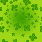 Leaf clover symbol of good luck Royalty Free Stock Image