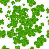 Leaf clover symbol of good luck Stock Image