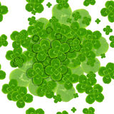 Leaf clover symbol of good luck Stock Images