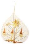 Leaf design stock illustration
