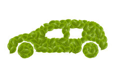 Leaf Eco Car II Stock Images