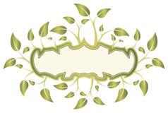 Leaf frame Royalty Free Stock Photo