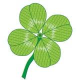 leaf fyra Royaltyfri Fotografi