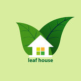 Leaf house Royalty Free Stock Photography