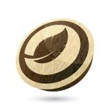 Leaf icon Royalty Free Stock Image